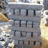 Margelle et coulisse foncées de granit du gris G654 de Padang pour l'horizontal