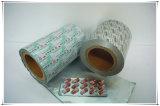 薬の包装のためのPtpのアルミホイル