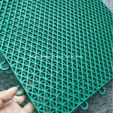 La pallacanestro smontabile dell'interruttore di sicurezza pp del polipropilene del Virgin mette in mostra le mattonelle di pavimentazione