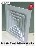 Aluminiumluftauslass-Register Wechselstrom deckt Decken-Diffuser (Zerstäuber) ab