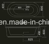 banheira moderna da elipse de 1650mm (AT-9061)