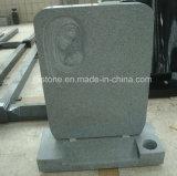 Headstone grigio-chiaro del granito G633