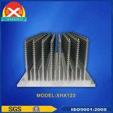 China-Fertigung aus Aluminium Klinge Kühlkörper mit individueller Gestaltungs