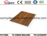 Panneau de plafond de PVC de cannelure de laminage, panneau de mur de PVC, tuile de plafond de PVC