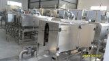 Het Lichaam van de fles en Machine van de Etikettering van de Koker van GLB de Dubbele Hoofd