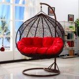 二重振動藤の家具、藤のバスケット(D151B)