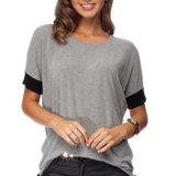 方法女性の余暇の偶然の細いTシャツClothesblouse