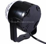 5개의 색깔 LED DJ는 원격 제어를 가진 Rgbwp 가벼운 소형 LED 수정같은 마술 공 가벼운 영사기를