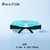 Las gafas de seguridad de laser de Rhp de la alta calidad para el laser del ND YAG optan zafiro de la máquina de la belleza + laser de rubíes de los interruptores de Q