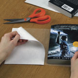 Cubierta de libro transparente de la película del protector del libro del PVC