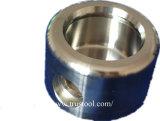 Aluminium CNC die /5axis CNC machinaal bewerken die Delen machinaal bewerken