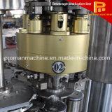 Lata de estanho de alumínio linear/máquina de enchimento de colocação em latas selagem do animal de estimação para a cerveja e a soda