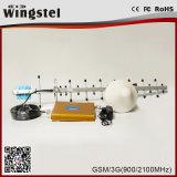 Mobiler Handy-Signal-Verstärker des Signal-Verstärker-2g 3G Doppelband900 2100MHz G/M WCDMA
