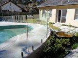 수영풀 안전 담을%s 10mm 투명한 단단하게 한 유리