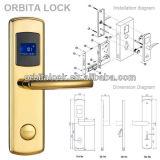 Orbitaの高い安全性の電子デジタルホテルのドアロックE3031