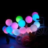 Luz de suspensão de bola USB LED para decoração de natal