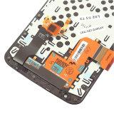 Pantalla del teléfono móvil para la pantalla del LCD del nexo 6 de Motorola con el marco