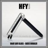Grav laboratorios pelele de cristal del tubo de agua Pipas de tabaco de pipa cabezal de ducha cachimba