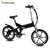 "bicicleta eléctrica plegable/plegable de 500W 48V 20 "" del neumático gordo"