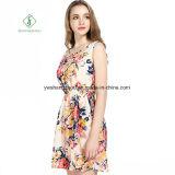 Фабрика платья платья Euramerican 2017 способов шифоновая напечатанная сексуальная макси