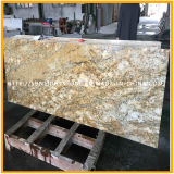 Granito novo do ouro de India Kashmir para a bancada ou telhas Cut-to-Size