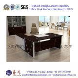 Стол управленческого офиса ног металла мебели Гуанчжоу деревянный (M2601#)