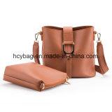 2017 sac de main européen réglé classique de type de sac en cuir de Madame Shoulder Handbags Hcy-9956