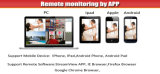 gravador de vídeo da rede do CCTV da câmera do IP do ponto de entrada de 8CH 4MP
