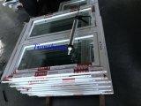Ventana de aluminio revestida modificada para requisitos particulares del marco del polvo con la doble vidriera