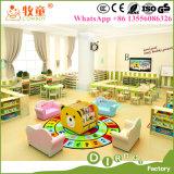 아이 나무로 되는 책상은 세트, 도매를 위한 목제 종묘장 교실 가구를 착석시킨다