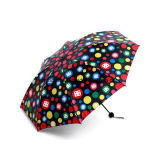 熱い販売の良質の印刷昇進OEMの折る傘