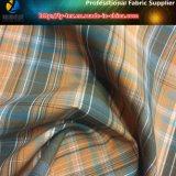 Polyester/de Nylon Gemengde Garen Geverfte Stof van de Controle voor Bovenkleding