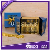 Doppelte Tür-geöffnetes Luxuxpapiergeschenk-Kasten-Verpacken
