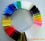 Feuille acrylique transparente élevée