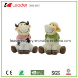 Lovely Polyresin Cow and Sheep Standing Figurines para Gramado Decoraiton