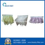 Saco de filtro não tecido da poeira com eficiência F7
