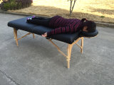 휴대용 안마 침대 나무로 되는 안마 테이블