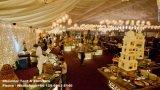 Grand chapiteau de 5000 personnes pour l'événement de mariage d'usager
