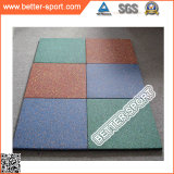 Carrelage en caoutchouc Mat Tile, EPDM Rubber Tile