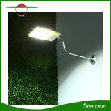 Mur de produits extérieurs imperméables à l'eau rechargeables d'éclairage de la lumière 15 DEL de détecteur de mouvement/rue/porche/voie/lumière sans fil actionnés solaires de jardin