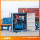 Containerized Scherpe Machine van de Lintzaag van de Pijp van het Type