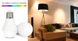6W RGBW E26/E27/B22 LED Glühlampe