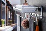 Cremagliera di alluminio dell'acquazzone della stanza da bagno della cremagliera di tovagliolo del bagno Bt298