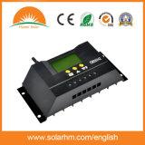 Heißer Selbstsolarcontroller der Verkaufs-12V 24V der ladung-30A