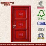 最もよい品質の木の単一のドアデザイン(GSP2-010)
