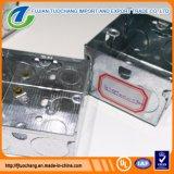 電流を通された鋼鉄3 x 3及び3 x 6電気コンジットボックス