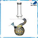 Verbogenes Mischfarben-Wasser-Glas-Rohr Fabrik-Verweisen