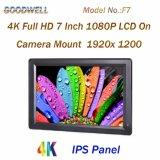 4k HDMI入出力7インチのカメラ架台LCDのモニタ
