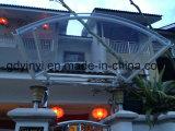 Евро-Конструируйте сень радуги напольного PC DIY алюминиевую для двери или окна (YY1200-I)