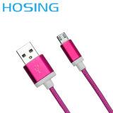 Cable del USB de 8 Pin para el cable colorido móvil del USB de la sinc. de los datos del teléfono los 4FT del IOS